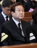 故 김상현 상임고문 장례미사 참석한 김무성