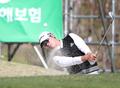벙커샷 날리는 김진성
