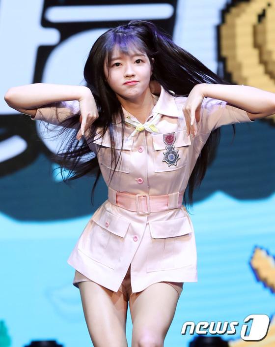 유아, 김신영에 전수 받은 셀럽파이브 댄스