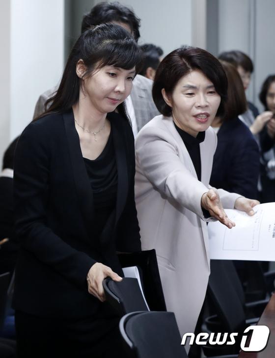여성 의원들 만나기 위해 국회 찾은 서지현 검사