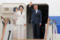 문재인 대통령 방미 '트럼프 만나고 오겠습니다'