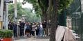 풍계리 방북취재 관심...주중 북한대사관에 몰려든 취재진
