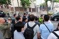 풍계리 남측취재단 방북 여부는?...주중 북한대사관 앞에 몰려든 취재진