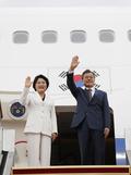 문재인 대통령, 한미정상회담차 미국 출국