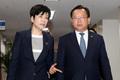 김부겸-김영주 장관 '임시국무회의 참석'