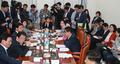 환노위 소위 참석한 정의당 의원들