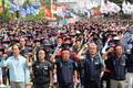 민주노총, '적폐국회 향해 외친다'