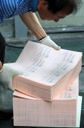 인쇄 시작된 6.13 지방선거 투표용지