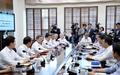 문재인 대통령, 수석보좌관 회의