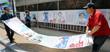 6·13 지방선거 벽보 붙이는 세종시 도담주민센터