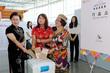지방선거 사전투표 체험하는 외국인들