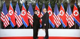 세기의 만남…트럼프·김정은 숨가쁜 5시간