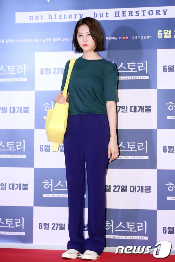 김새론, 단발 소녀