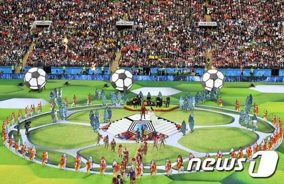 2018 러시아 월드컵 \'화려한 개막\'