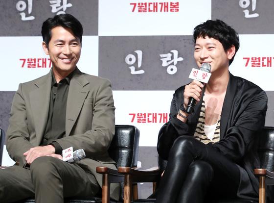 """'인랑' 강동원 """"'비트'보고 자랐는데…정우성과 호흡 영광"""""""