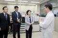 김은경 환경부 장관, 수질분석센터 현장 점검