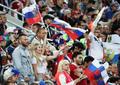 러시아 미녀들, '축구가 좋아'