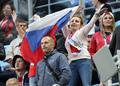 러시아 여성팬들, '어깨춤이 절로 나오네'
