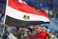 응원하는 이집트 축구팬들