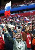 축구에 빠진 러시아
