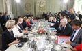 [사진] EU 정상회의 앞서 佛-獨 각료회의