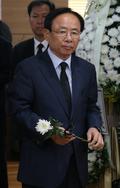 김종필 빈소 찾은 이주영 자유한국당 의원