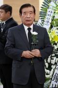 김종필 전 총리 빈소 조문하는 한광옥 전 국민대통합위원회 위원장