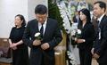 김종필 전 총리 빈소 찾은 박지만·서향희 부부
