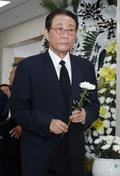 김종필 전 총리 빈소 찾은 고건 전 총리