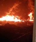 인천 합성수지 공장서 큰 불