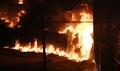 인천 합성수지 공장 대형화재 확산중