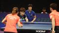 홍콩과 경기 펼치는 남북단일팀