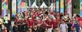 '2018 자카르타·팔렘방 아시안게임 개막식 향하는 인파'
