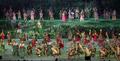 인도네시아 전통을 보여주는 오프닝 공연