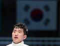 박상영 '아쉬움 가득'