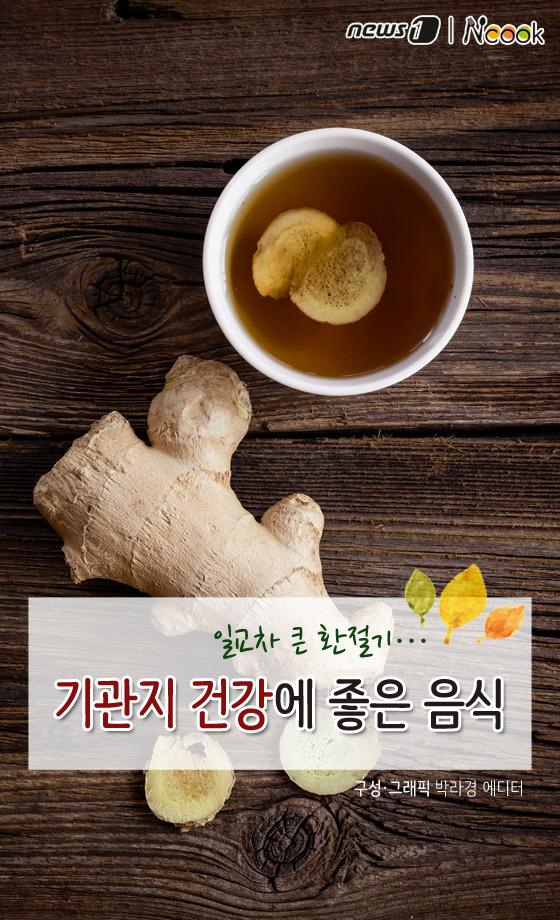 [카드뉴스][건강N쿡]일교차 큰 환절기…호흡기 건강에 좋은 음식