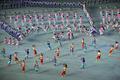 멋진 공연 펼치는 북한 공연단