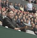 인사말하는 김정은 국무위원장
