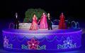 멋진 공연 선보이는 북한 공연단