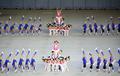 멋진 공연 선보이는 북한 어린이 공연단