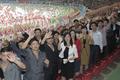 평양 시민들 '열띤 환호'