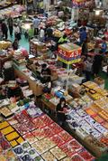 추석 대목 맞은 청과물 시장