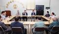 전통시장 상인들 만난 성뮨모 장관