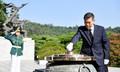정경두 국방부 장관, 현충원 참배