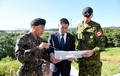 JSA 비무장화 계획 보고 받는 정경두 국방부장관