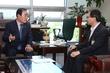 장병완 민주평화당 원내대표 찾은 김성주 국민연금공단 이사장