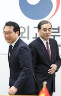 한-중 북행수석대표 '잘 해봅시다'