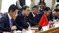 모두발언하는 쿵쉬안유 중국 외교부부장