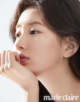 [N화보] 수지, 민낯 화보 공개 '무결점' 광채 미모