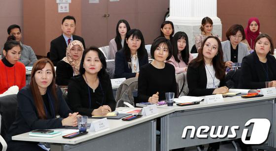 '오늘부터 서울시 외국인 주민 대표자'
